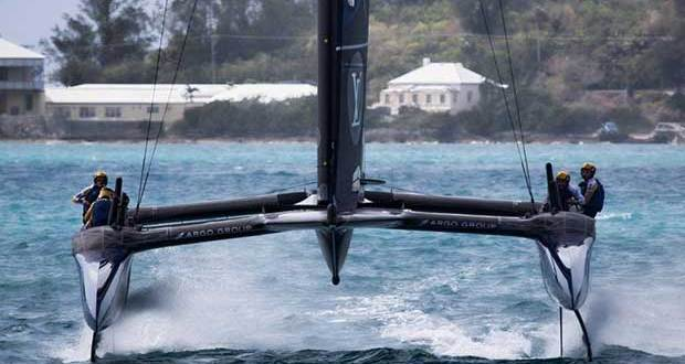 Day 13 - Artemis goes 3-0 when it counts - America's Cup 2017 Richard Smith