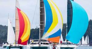The multihull fleet at Audi Hamilton Island Race Week has expanded rapidly in recent years. Andrea Francolini http://www.afrancolini.com/