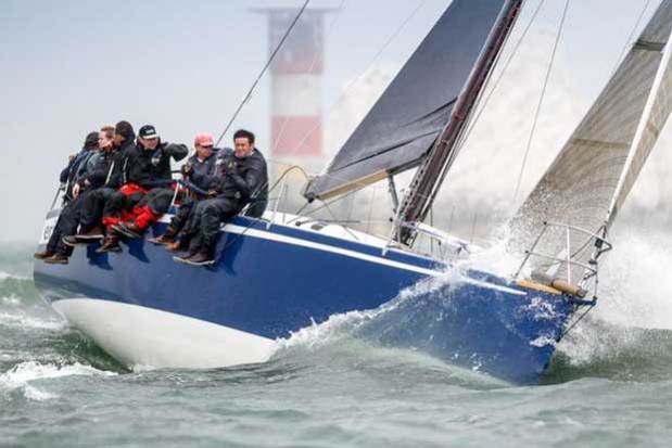Mike Greville's Ker 39, Erivale III, holder of the Morgan Cup Paul Wyeth / RORC