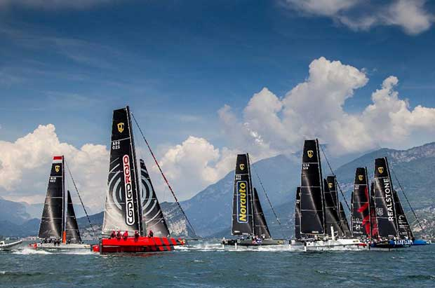 Código Rojo Racing Team at the GC32 Riva Cup. Jesus Renedo / GC32 Racing Tour