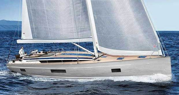 Artist's rendition of the new C65 underway with the self-tacking jib - Bavaria C65 © Bavaria Yachts Australia http://www.bavariasail.com.au