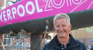 Clipper Race Skipper Lance Shepherd with Liverpool 2018 © Clipper Ventures