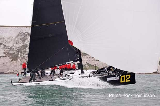 Sir Keith Mills KER40+ Invictus – FAST40+ Cloudy Bay Trophy © Rick Tomlinson http://www.rick-tomlinson.com