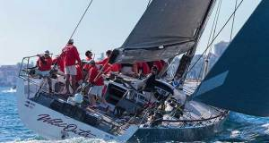 It was a good start for the Oatley Family's Wild Oats XI in the 2017 Land Rover Sydney Gold Coast Yacht Race © Andrea Francolini/CYCA