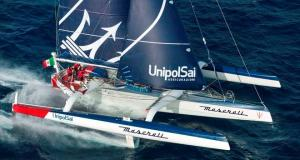MaseratiMulti70 finishes the Transpac Race in Honolulu in third place © Tiziano Canu