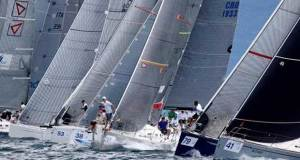 Close practice start action in Class B - ORC Worlds Trieste 2017 © Andrea Carloni