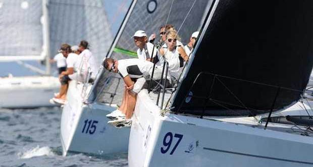 Holding lanes in Class C is hard work - ORC Worlds Trieste 2017 © Andrea Carloni