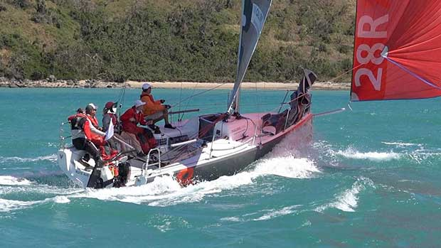 Far East Under Spinnaker - Audi Hamilton Island Race Week 2017 Crosbie Lorimer http://www.crosbielorimer.com
