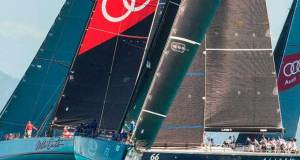 Day 3 – Black Jack with Wild oats XI and Alive – Audi Hamilton Island Race Week © Andrea Francolini Photography http://www.afrancolini.com/