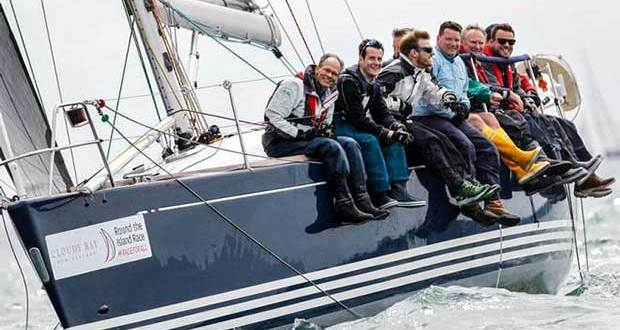 Competitors enjoying the 2017 Round the Island Race in association with Cloudy Bay. © Island Sailing Club