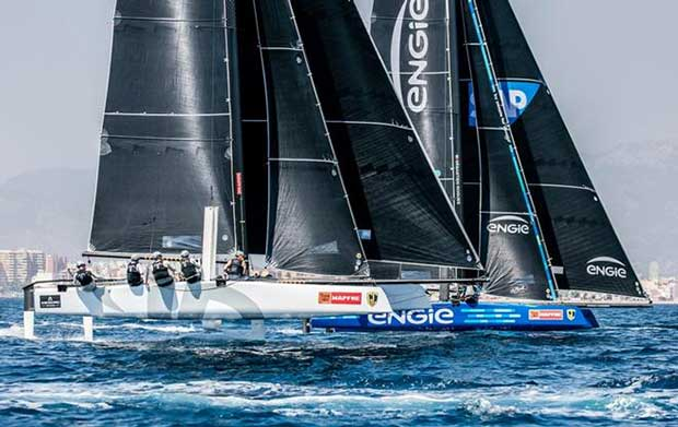 Villasimius winner Argo with Seb Rogues' Team Engie – GC32 Racing Tour Jesus Renedo / GC32 Racing Tour