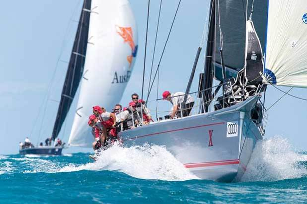 Wild Oats X, with HRH Prince Frederik of Denmark at the helm, won the IRC Grand Prix division at Audi Hamilton Island Race Week 2017 Andrea Francolini http://www.afrancolini.com/