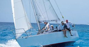 Bill Tempro's Hunter 36 Sail La Vie - Barbados Sailing Week 2018 - photo © Peter Marshall / BSW