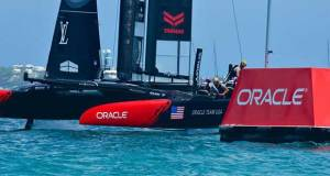 Oracle Corporation were strong supporters of the 35th America's Cup - 2017 America's Cup Bermuda © Scott Stallard