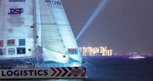 PSP Logistics arrival © Clipper Race