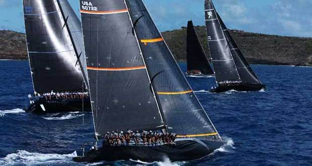 George Sakellaris' Maxi 72 Proteus is competing in the 10th edition of the RORC Caribbean 600 in Antigua © RORC / Tim Wright