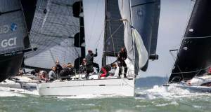 The mix of inshore and offshore races makes the IRC Europeans attractive to European entries like Frans and Carla Rodenburg's First 40 Elke from the Netherlands - photo © Paul Wyeth / www.pwpictures.com