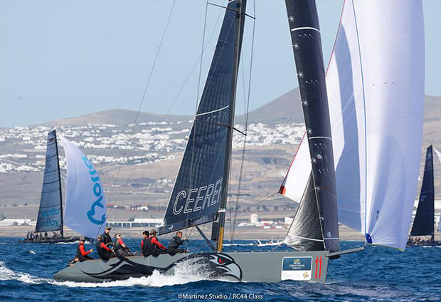 Igor Lah's Team CEEREF recovered to claim third overall - 2018 RC44 Calero Marinas Cup - photo © www.MartinezStudio.es