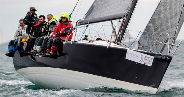 After seeing an improvement in their results, Andy Williams' Max Fun 35, Mad Max will be out on the Solent making the most of the free coaching once again this Easter - photo © Paul Wyeth / www.pwpictures.com