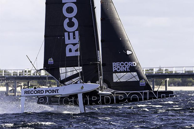 Record Point are on 12 points, seven astern of the Dream team on Euroflex. © Andrea Francolini
