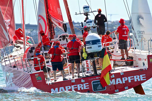 MAPFRE guests - Volvo Ocean Race - Auckland Stopover In Port Race, Auckland, March 10, - photo © Richard Gladwell