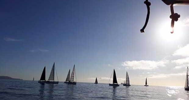 Very light winds for Race 3 of the ISORA Offshore Series 2018 © Peter Ryan
