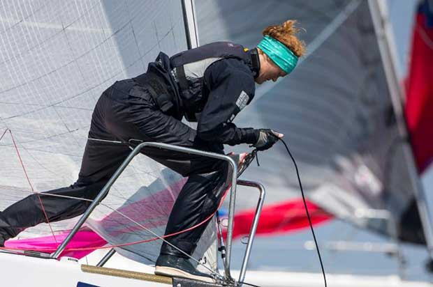 ...as did bow women! Day 3 at The Hague Offshore Sailing World Championship 2018 © Sander van der Borch