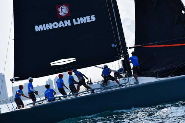 Enfant Terrible, the Italian entry skippered by Alberto Rossi, made its season debut on the International Circuit and was runner-up at the Verve Cup. - photo © Farr 40 Class Association