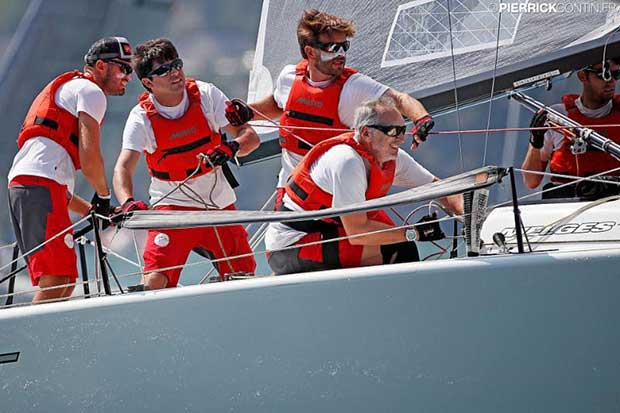 The third place in the general standings remains unchanged, occupied by the two times Corinthian World Champions on Taki 4 (ITA778, 9-3 today) - Melges 24 European Championship 2018 - photo © Pierrick Contin