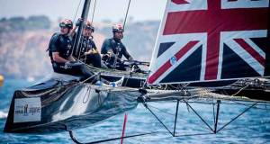Ben Ainslie, the most successful Olympic sailor of all time, comes to Villasimius with his INEOS Team UK - photo © Jesus Renedo / GC32 Racing Tour