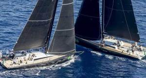 ClubSwan50 Fleet, OneGroup and Mathilde on day 1 of the Rolex Swan Cup 2018 - photo © Rolex / Borlenghi