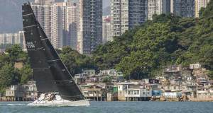 Teams prepare to start the Hong Kong to Hainan Race 2016 - photo © RHKYC / Guy Nowell