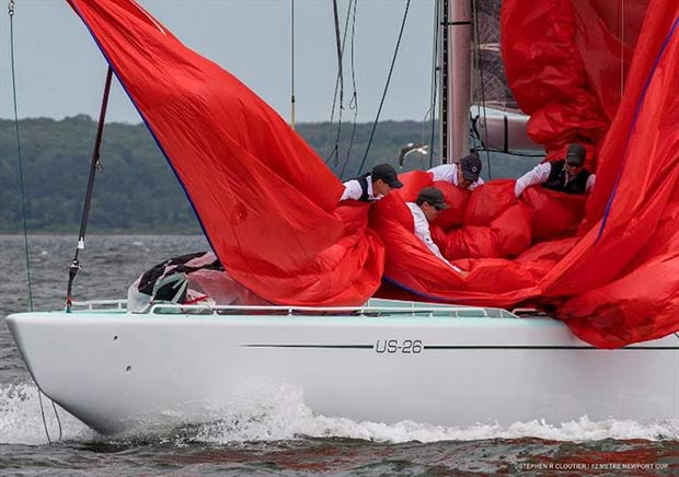 Plenty of 12 Metre action in store for 2019 at the 12 Metre Worlds in Newport, R.I. - photo © Stephen Cloutier