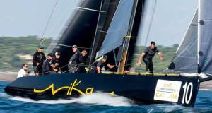 Team Nika leads the 2018 RC44 Championship going into the final event, but five boats remain capable of winning. - photo © Pedro Martinez / Martinez Studio