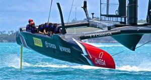 An America's Cup in Auckland with potentially 12 teams is double the size of the AC fleet in Bermuda © Richard Gladwell