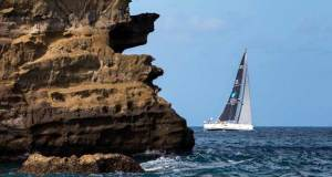 Finishing the RORC Transatlantic Race in Grenada - Arto Linnervuo's Finnish Xp-44 Xtra Staerk - photo © RORC / Arthur Daniel