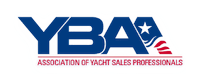 logo of one of our partners the YBAA, the Association of Yacht Sales Professionals