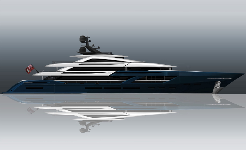 ISA Sells New 65m Yacht Project Yacht Harbour