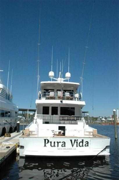 Motor Yacht Pura Vida Broward Yacht Harbour