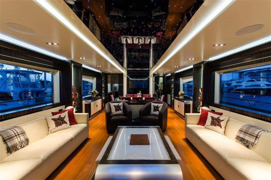 Motor Yacht Lunasea V Dominator Yacht Harbour