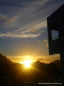 Sunset over Victoria