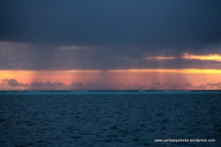 Sunset squall