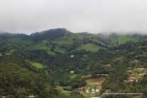 lush hillsides