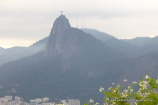 Redeemer statue and Mount Corcovado