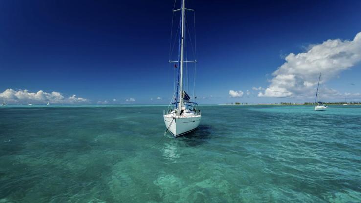 Islas Virgenes Britanicas velero