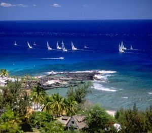sail the Reunion Island
