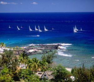 sail the Reunion Island