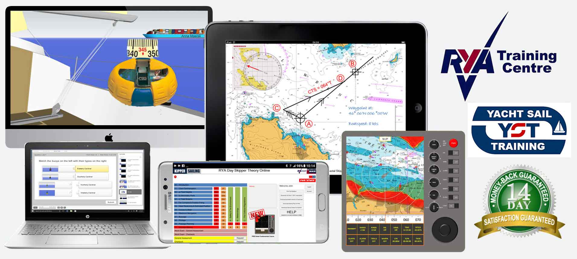 banner for yacht sail training online yachtmaster