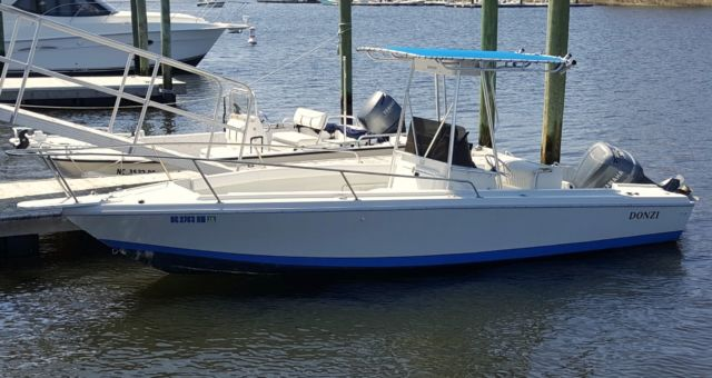 23 Foot Donzi Center Console 200HP Offshore For Sale In