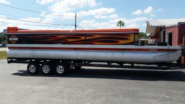 Evolution Power Boats 2006 30ft Pontoon Harley Davidson Edition For Sale In Orlando Florida